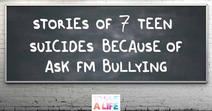cyber bullying and ateenage suicide