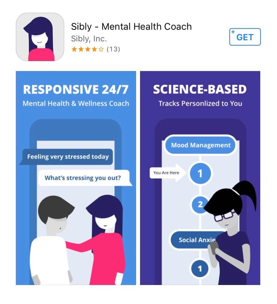 sibly mental health app